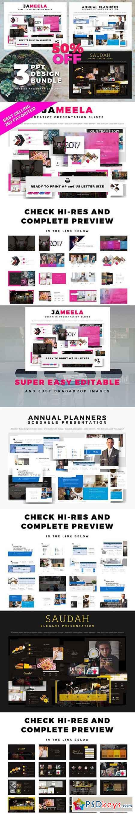Bundle powerpoint design template 1674332