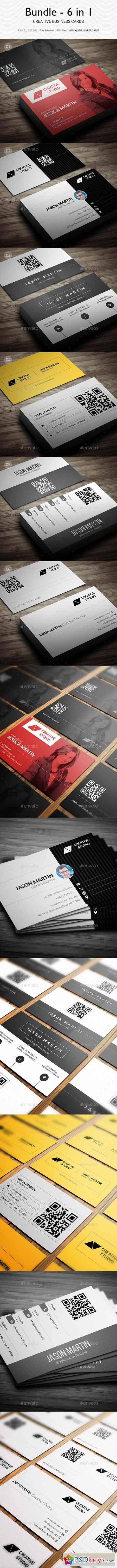 Bundle - 6 in 1 - Creative Business Cards - B29 20465912
