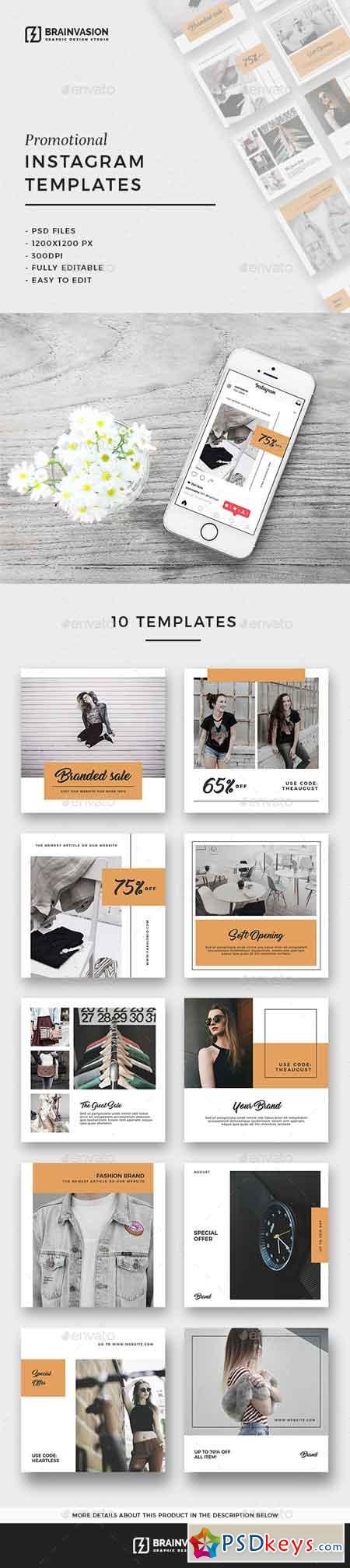 Instagram Templates Vol.04 20437836