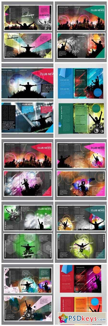 Night Club Template - 10 Vector