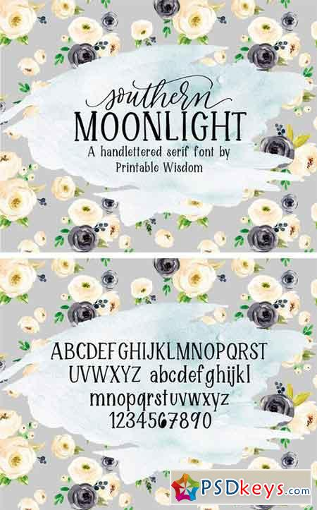 Southern Moonlight Font 1709675