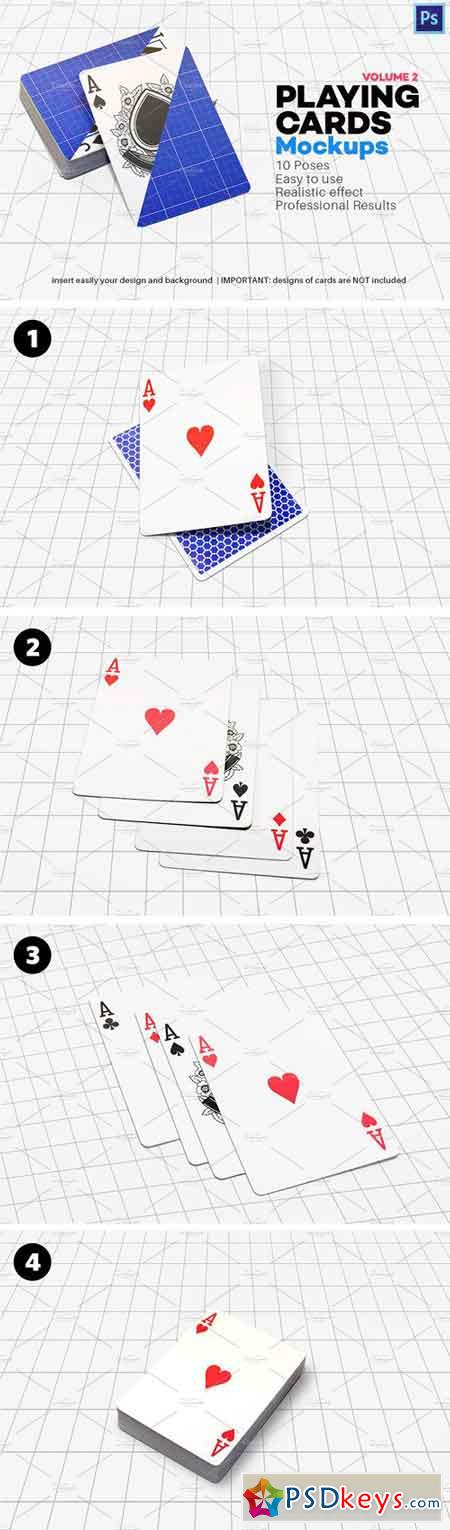Playing Cards Mock-up V.2 1708734