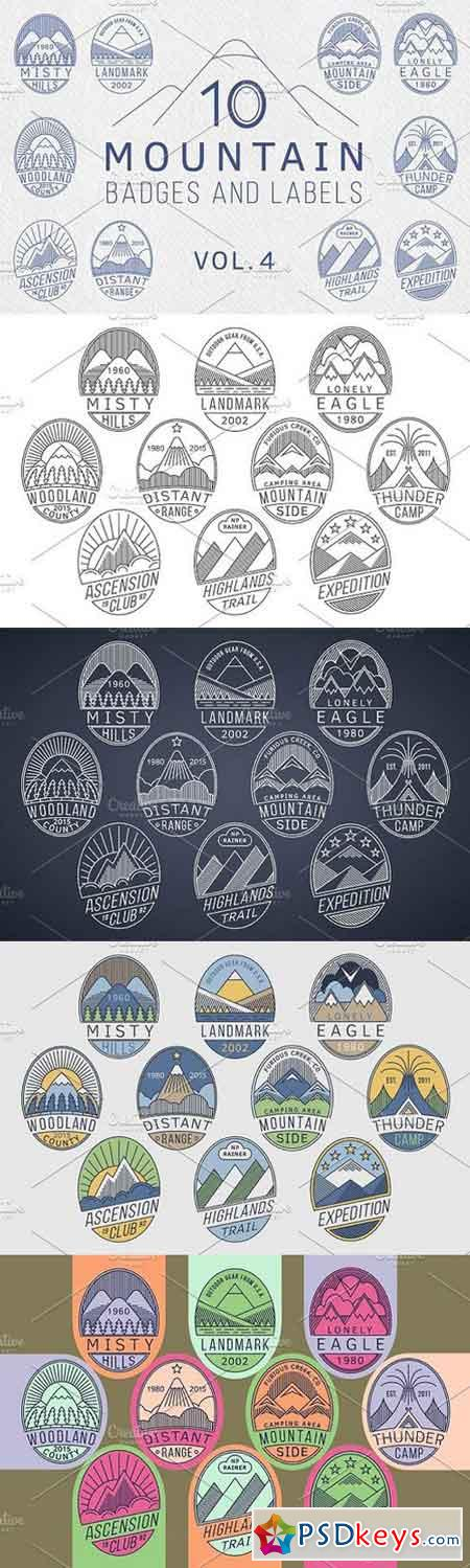 Mountain Badges vol.4 1697969