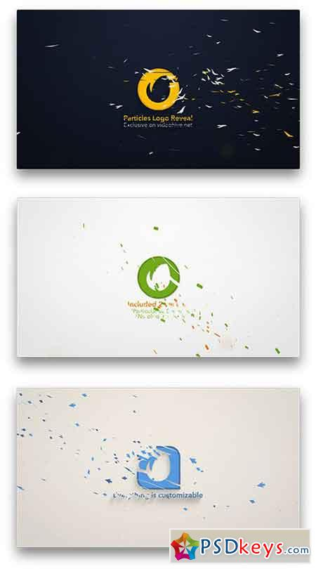 Particles Logo Reveal Toolkit 12355074 - After Effects