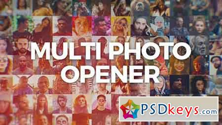 Multi Photo Logo Opener 20278570 - After Effects Projects