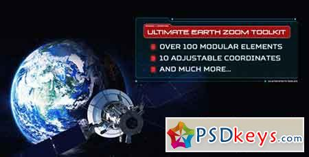Ultimate Earth Zoom Toolkit V3.3 10354880 - After Effects Projects