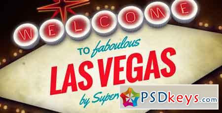 Welcome to Fabulous Vegas Logo Opener Animation - After Effects Projects