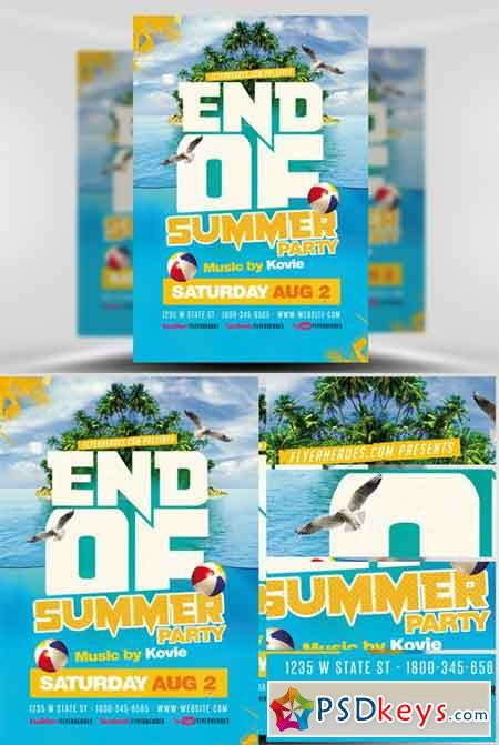 Flyers For Free End Summer Flyer | Www.Gooflyers.Com