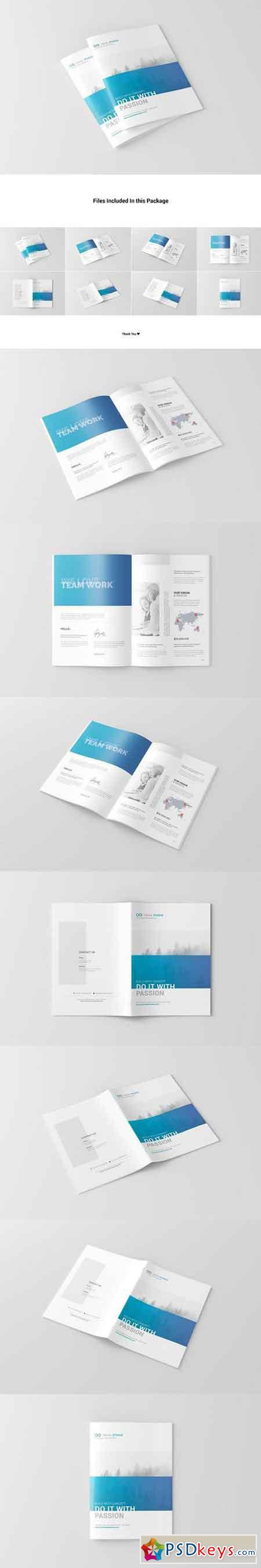 A4 Brochure Catalog Mock-Ups 1712150