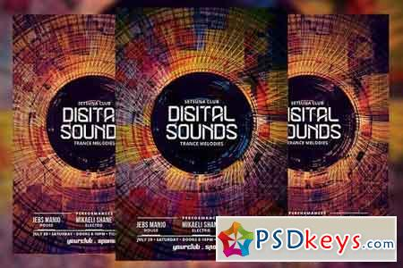 Digital Sounds Flyer 1710266