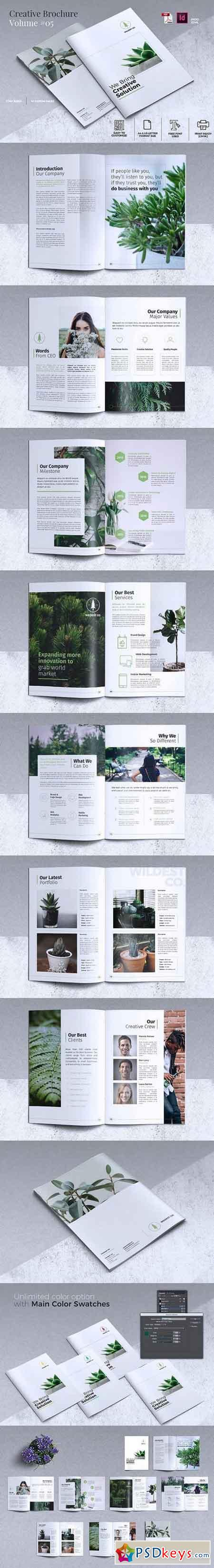 Creative Brochure Template Vol. 05 1711443