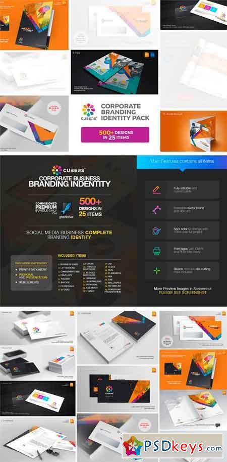 Corporate Branding Identity Bundle 1722465