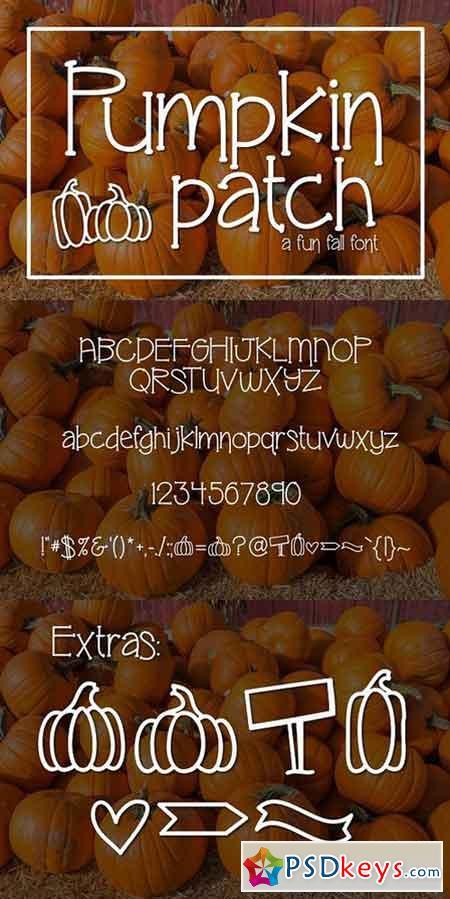 Pumpkin Patch a fun Serif Font 1710158
