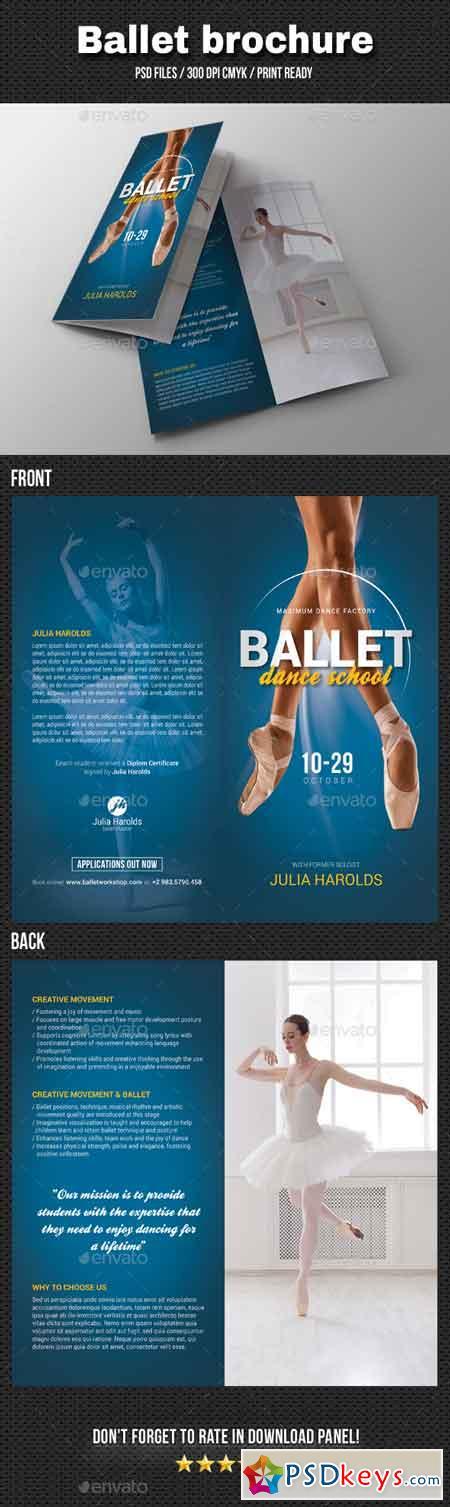 Ballet Workshop Bi-Fold Brochure 20516024