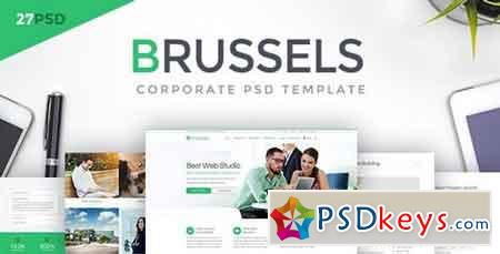 Brussels - Corporate PSD Template 20370955