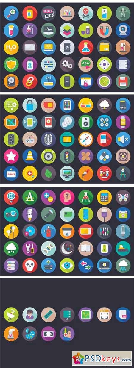 207 Science and Technology Flat Icon 1603232
