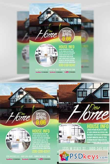 Real Estate Flyer Template V4