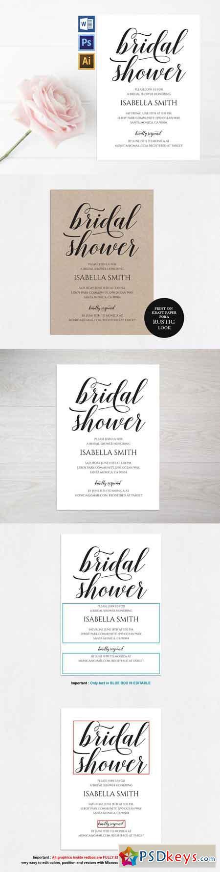 Bridal Shower Invitation Wpc309 1765233