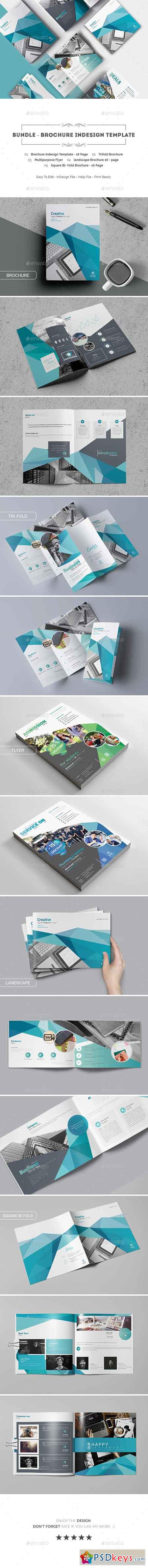 Bundle - Brochure Indesign Template 20515464 » Free Download ...