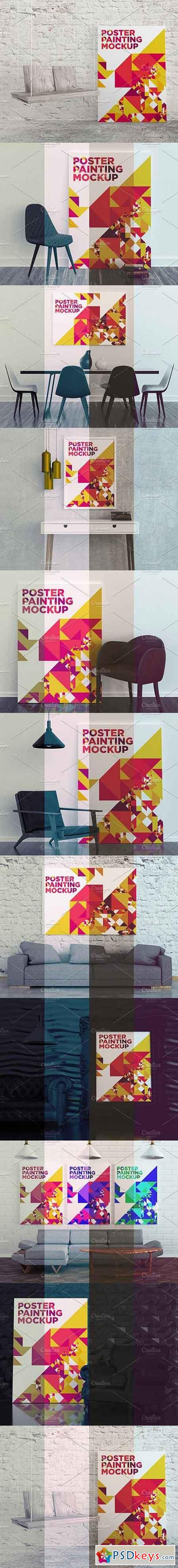 Poster Painting MockUp Pack 001 1710761