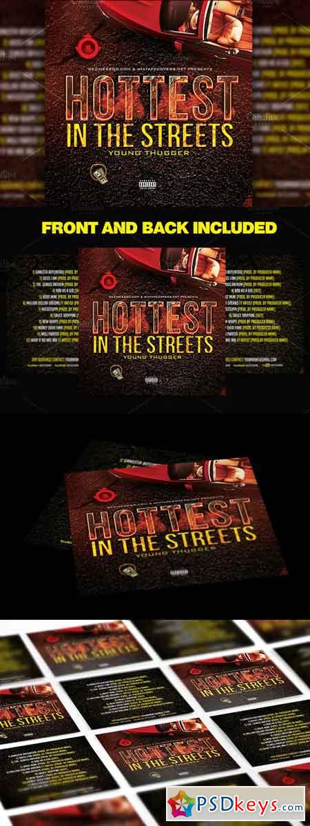 Hottest in the Streets CD Cover 1790814