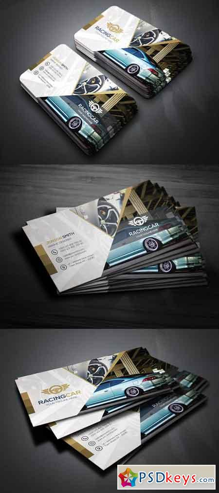 Rant A Car Business Card 1790117