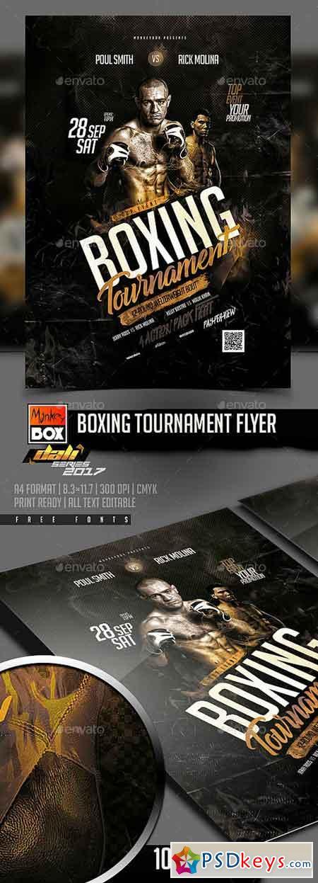 Boxing Tournament Flyer 20517849