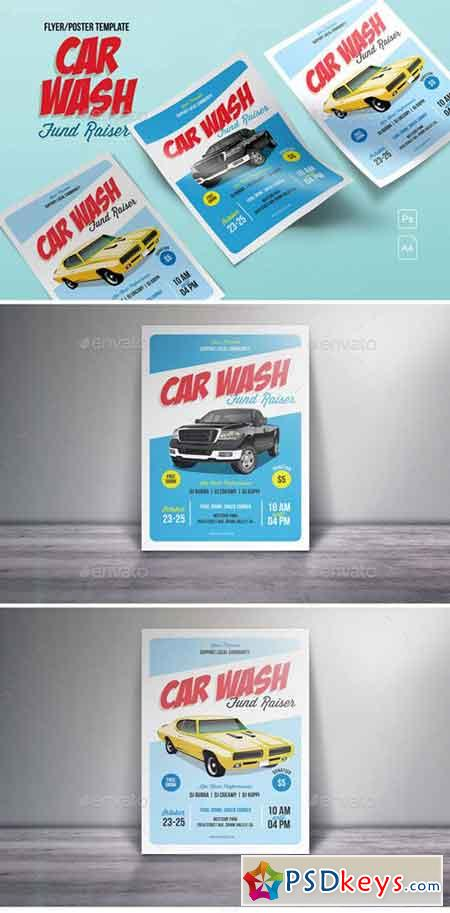 Car Wash Fund Raiser Flyer 18396741