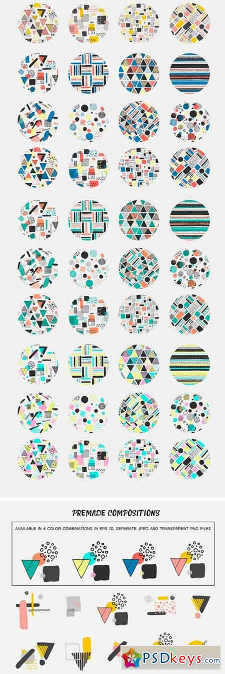 Hand Made Pattern and Graphic 1721422