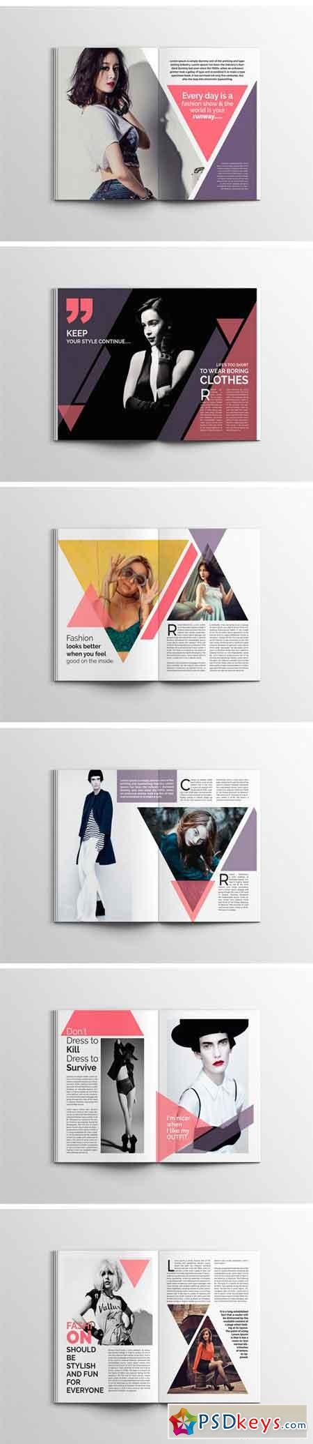 PRETTY Fashion Magazine Template 1757371
