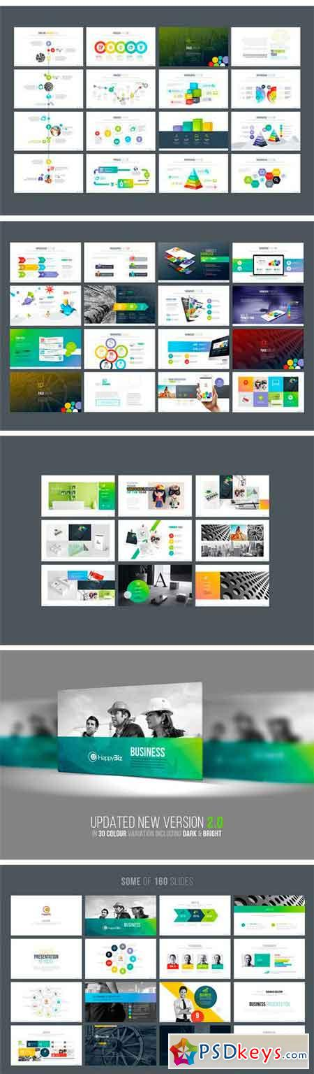 Multipurpose Business PowerPoint 1739604