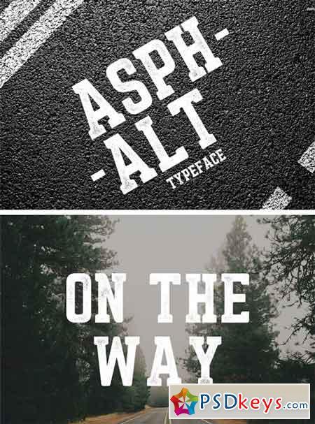 Asphalt Typeface 1758060