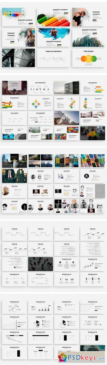 CIRCULO Keynote Template + Vectors! 1757482