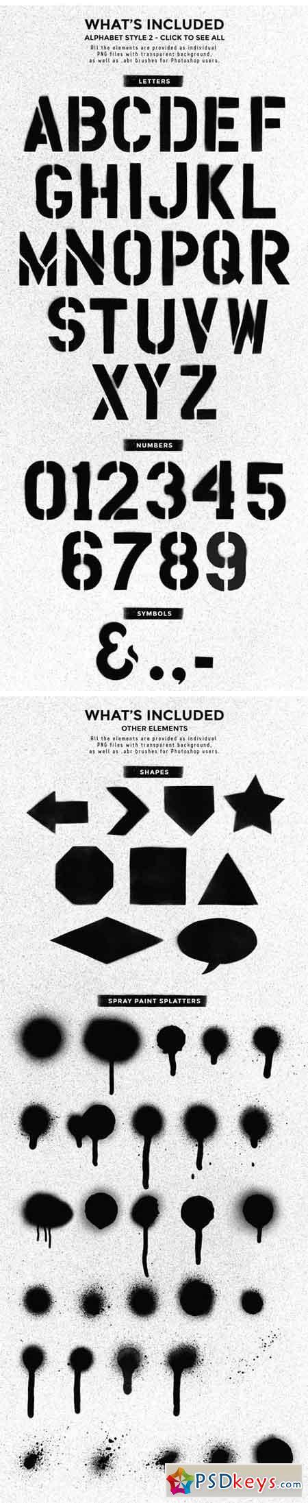 Stencil Design Kit 1757440