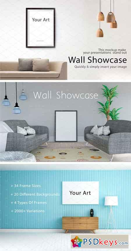 Wall Mockup - Bundle Vol. 1 1708993