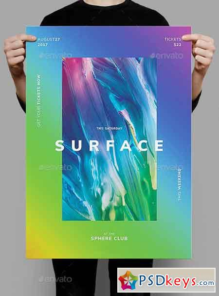Surface Flyer Poster Template 20549240