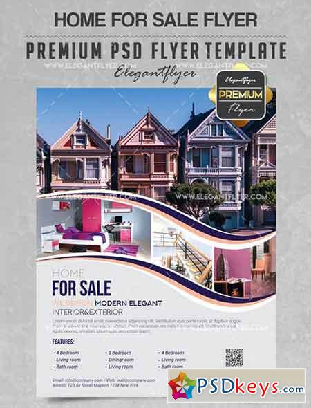 Realtor – Flyer PSD Template + Facebook Cover