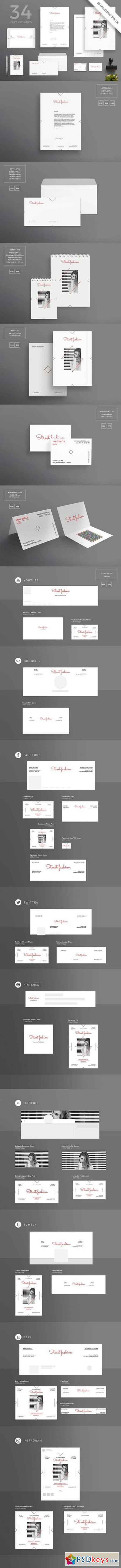 Branding Pack Street Fashion 1495624