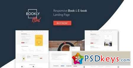 Bookly v1.0 - The Perfect Landing Page, Book & Ebook. Boost Your Conversions. 20466372