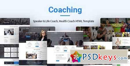 Coaching v1.0 - Speaker & Life Coach, Health Coach HTML Templates 20458907