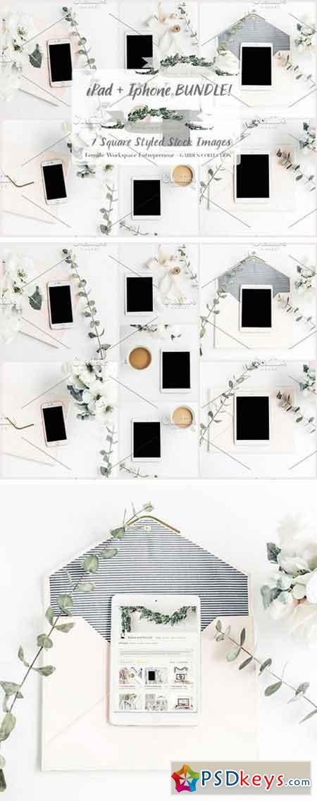 Ipad + Iphone BUNDLE! 7Styled Images 1383583