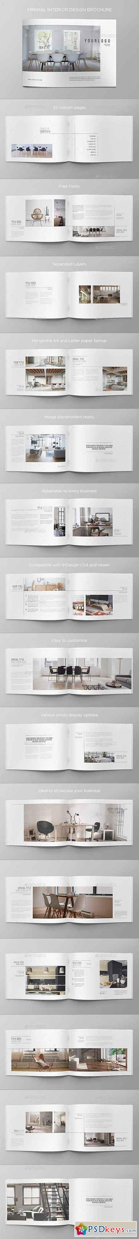 Minimal Interior Design Brochure 8925678