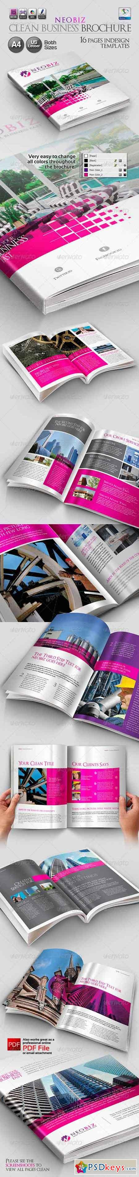 NeoBiz Clean Business Brochure 3218632