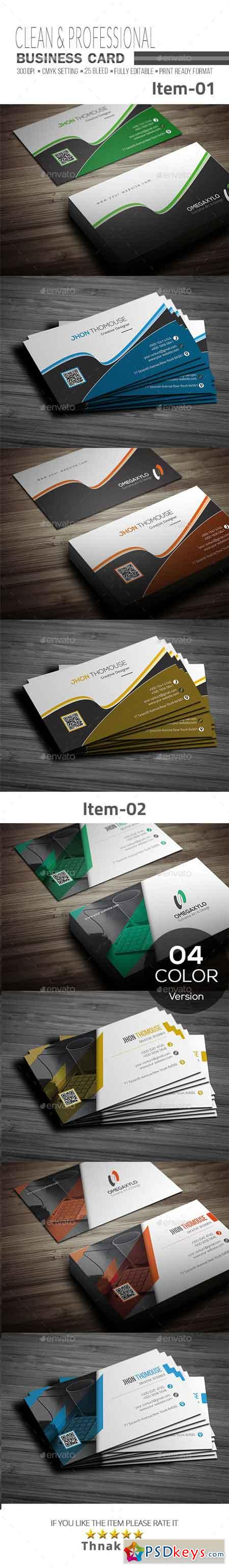 Business Card Bundle 2 In 1 20568289