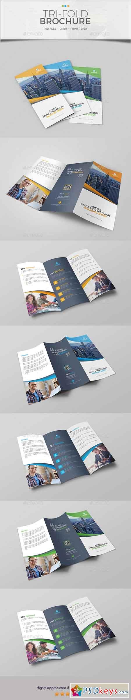Trifold Brochure Template 13 20566772