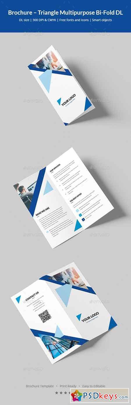 Brochure – Triangle Multipurpose Bi-Fold DL 20592232