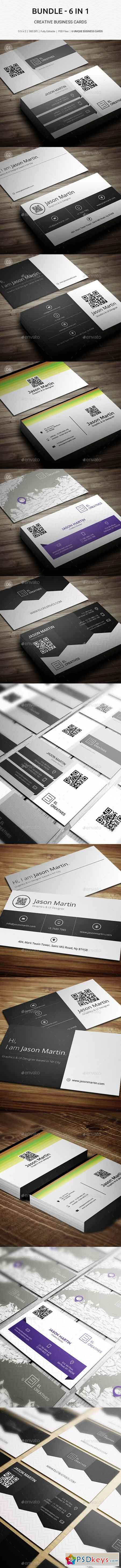 Bundle - 6 in 1 Pro - Creative Business Cards - B47 20594915