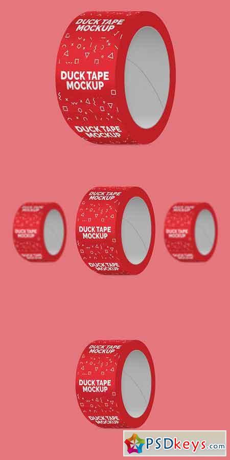 Duct Tape Mockup 1828210