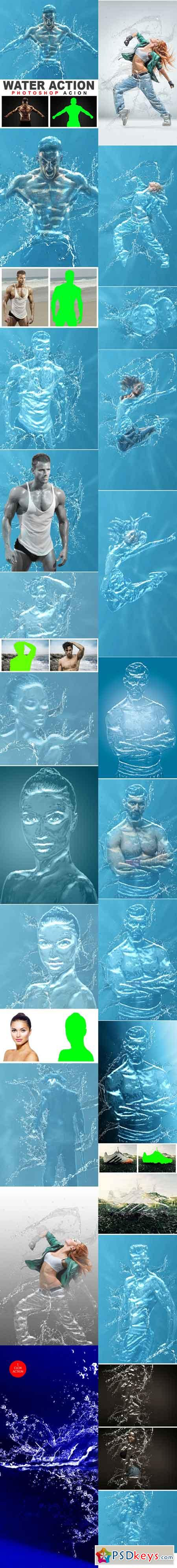 Water Photoshop Action Photo Effects 20545376