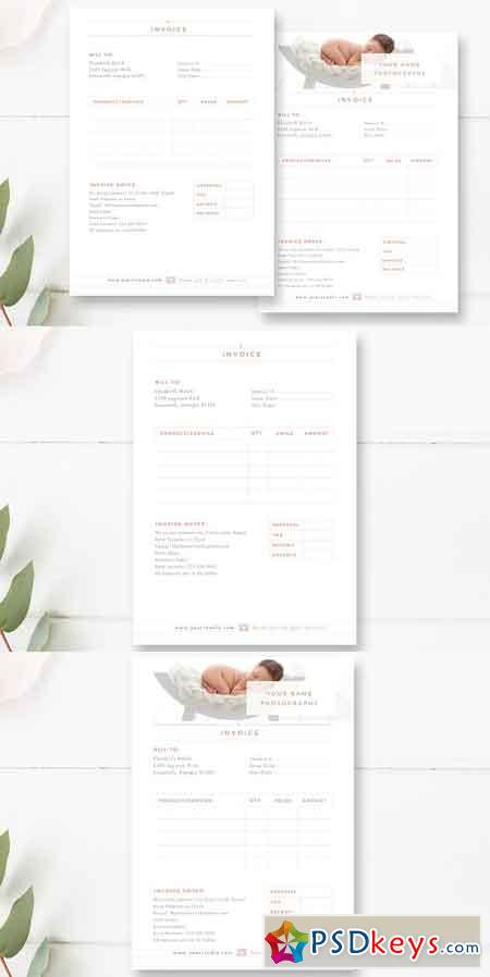 Invoice Template for Photographers 1828257